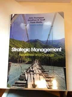 🚚 Strategic Management: Awareness and Change