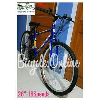 """Harris 26"""" 18Speeds MTB / Mountain Bikes *available in Y and straight frames. Brand new bicycles."""