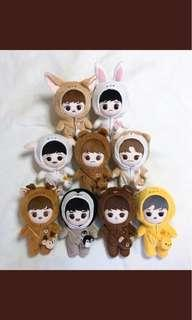 EXO Dolls Chanyeol & Lay