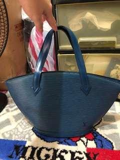 Saint Jacques Shoulder Bag (Blue)