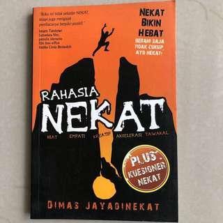 Buku Rahasia Nekat Dimas Jay