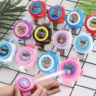 Children Projection Watches
