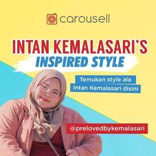Inspired style Intan Kemalasari