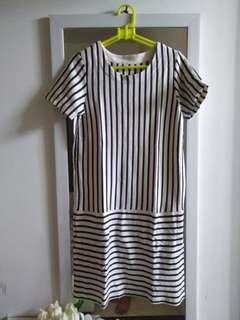 Stripes Dress Uniqlo