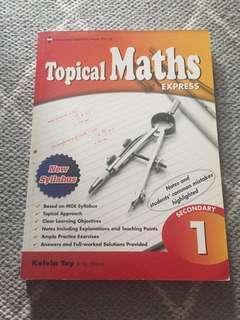 Sec 1 Topical maths express