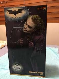 全新 medicom Dark knight joker batman 黑夜之神 蝙蝠俠小丑公仔figure