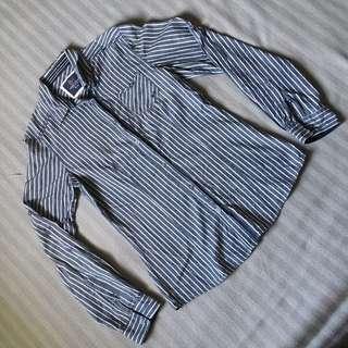 PDI Blue Stripes Work Shirt