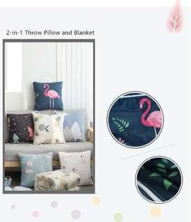 Throw Pillow/Blanket 2in1(preorder)
