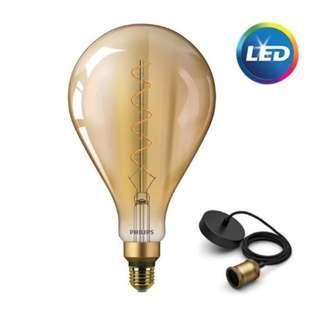 飛利浦 LED Classic Giant 6.5W 復古彷鎢絲吊燈 36107-A160