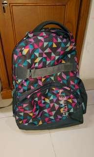 Backpack (tas ransel untuk sekolah dan jalan2)