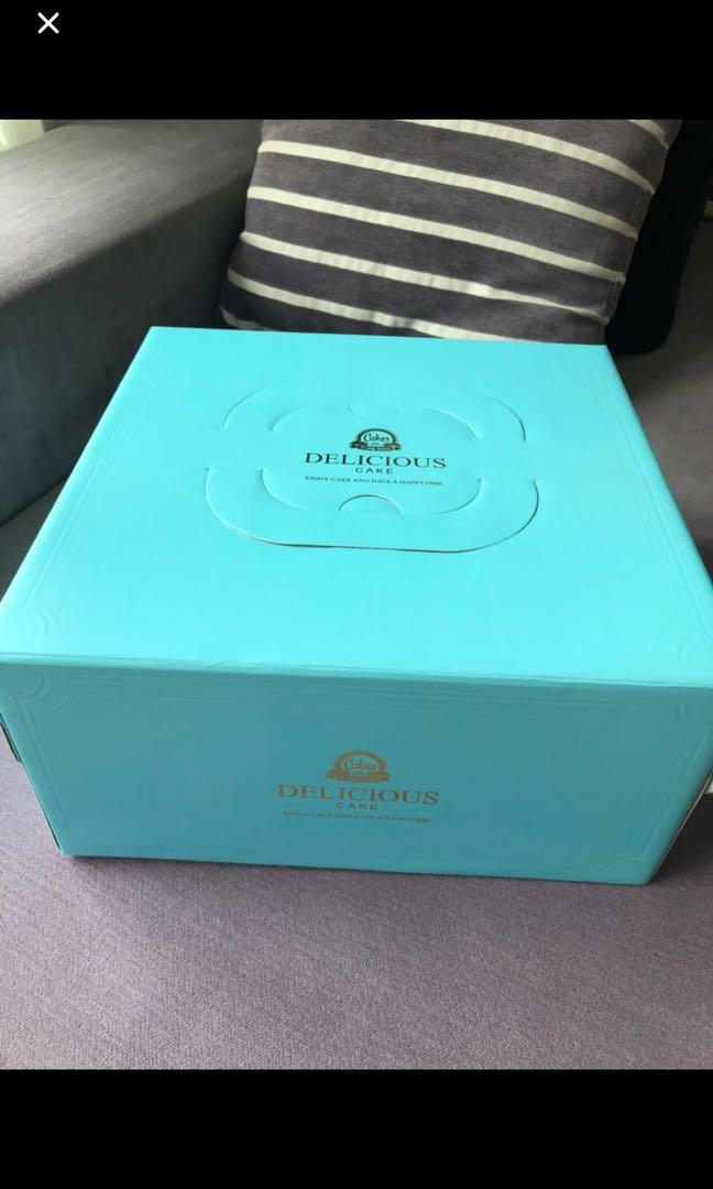 12 inch cake box party