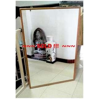 ~SOLD !GooD for HoMe DIY GyM! UseD Big RecTanGuLaR   MiRRoR