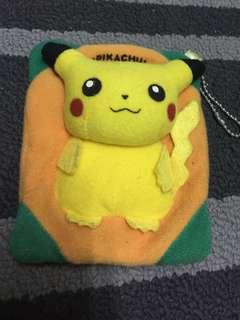 Original pokemon pikachu pocket tissue cover