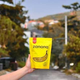 Zanana Chips - Smoked Beef Flavour Banana Chips (80g)