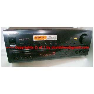 ~~~Pioneer VSX-634S 7 Channels AV Tuner  Amplifier $348 ~~~