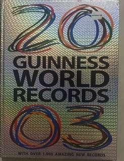 🚚 Give Away Guinness World Records 2003