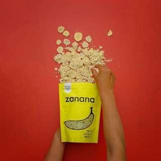 Zanana Chips - Creamy Milk Flavour Banana Chips (180g)