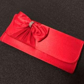 Kate Hill Bow Clutch