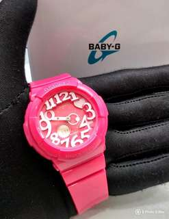 a3fd6610ef FREE DELIVERY * Brand New 100% Authentic Casio BabyG Sweet Pink & White  Index