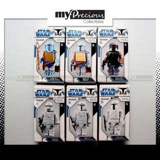 Medicom Kubrick Star Wars Legendary Bounty Hunter Boba Fett Collection