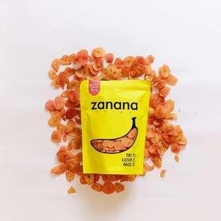 Zanana Chips - Classy Spicy Flavour Banana Chips (80g)