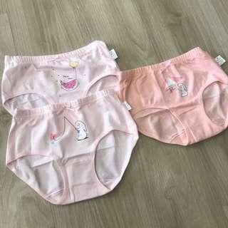 Panties undergarment girls kids toddler