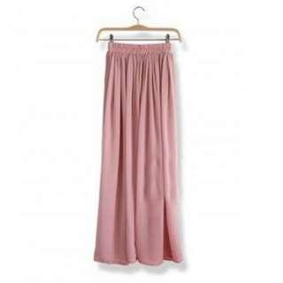 New Maxi Skirt 100cm Dusty Pink