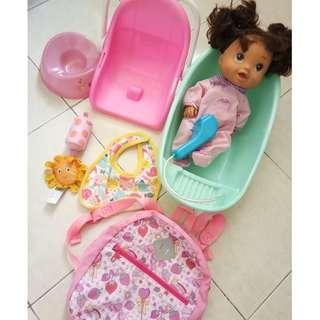 Baby alive doll set