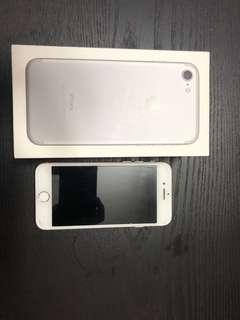 🚚 iPhone 7, 128gb in silver, negotiable!