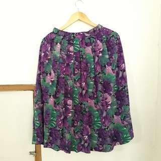 Rok Bunga, Floral Skirt, Flower Skirt, Rok Pesta