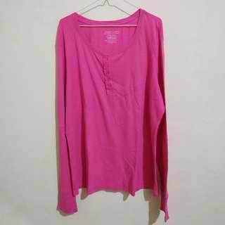 BIG Jumbo Pink Sleepwear - baju tidur