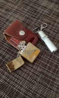 zippo,bag and refill