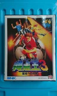 SNK NEOGEO 原裝(日版)家用版遊戲 ~ 得點王3