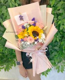 Be Always Blooming Flower Bouquet