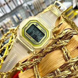 G-shock transparent 35th anniversary Normal Grade AA Unisex Watch Cermin kaca #jam