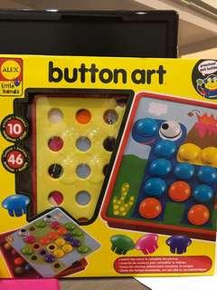 Button Art for toddlers