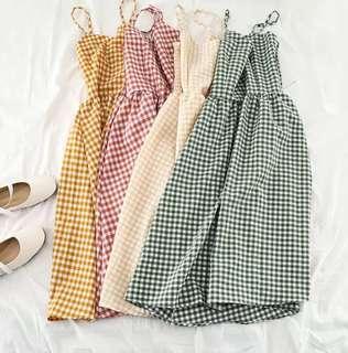 Checkered Dress T09