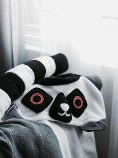 GREAT CONDITION: Kigurumi Lemur Onesie
