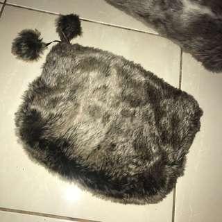 Zara pouch (faux fur)