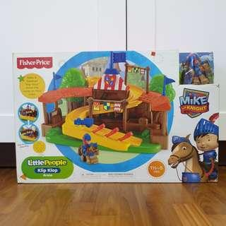 Fisher-Price Little People Klip Klop Arena Mike The Knight Toy (For 1.5 - 5 Years Old Baby / Toddler / Child)