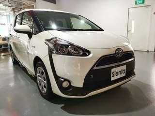 Toyota Sienta Hybrid X 1.5