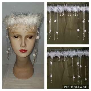 羽毛頭飾 Feather hair accessories