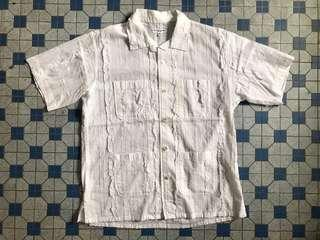 Engineered Garments Embroidery Camp Shirt