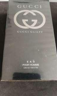 🚚 Gucci guilty pour homme edt 90ml man