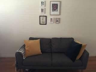 3+2 seater sofa in very good condition Scandinavian style