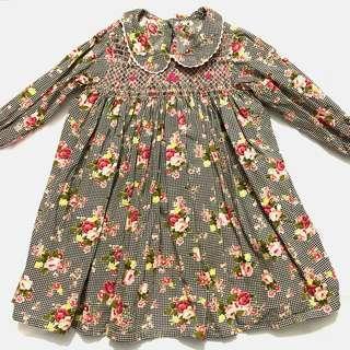 Smocking Blouse Dress