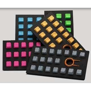 🚚 Tai Hao Rubber Double Shot Backlit Gaming keycaps - 4 BLANK key cap ($10) / 18 Keys ($35)