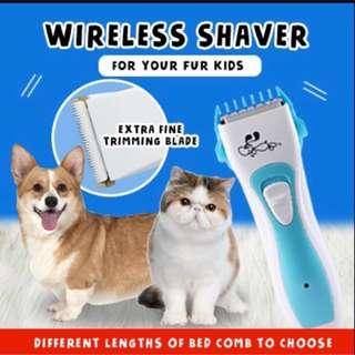 Pet Dog/Cat wireless shaver INSTOCKS !