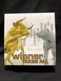 Winner Takes All NYSE 1 Oz Silver Coin