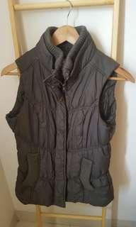 New Look Womens Vest Jacket Army green